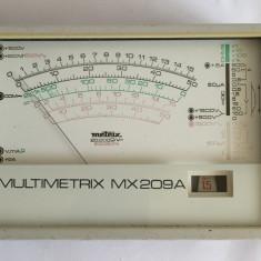 Multimetru -voltmetru-ampermetru analog / aparat masura Multimetrix MX209A