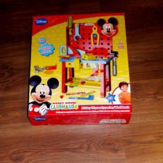 Banc de lucru Mickey Mouse Disney - Scule si unelte Altele, 4-6 ani, Plastic, Baiat