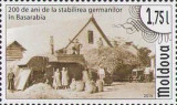 MOLDOVA 2014, Bicentenarul stabilirii germanilor in Basarabia, serie neuzata, Nestampilat