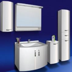 Oglinda baie alb 80 Roma Sanotechnik - 45100