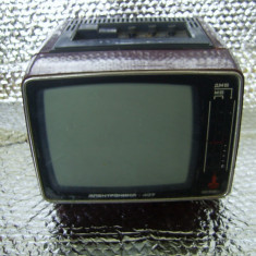 TELEVIZOR SPORT ELEKTRONIKA 407 RUSESC, ANIVERSAR JOCURILE OLIMPICE MOSCOVA - Televizor CRT