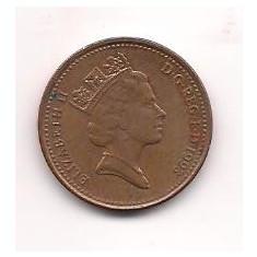 No(3) moneda- Anglia- 1 Penny 1993, Europa, An: 1997