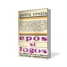 Petru Cretia - Epos si logos - Carte de aventura