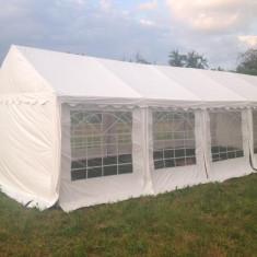 Cort profesional 4x10 m prelata PVC 500 gr/mp IGNIFUG Cort evenimente - Mobila terasa gradina