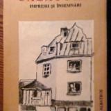Arthur Kreindler - Calatorii - Impresii si insemnari - Carte de calatorie