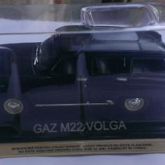 Macheta Gaz M22 Volga 1963 + revista DeAgostini Masini de Legenda nr.23