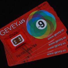 Gevey decodare iPhone 6S 6+ 6 5S 5C 5 4S - Gevey SIM