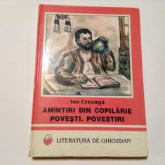 AMINTIRI DIN COPILARIE.POVESTI.POVESTIRI, RF7/3 - Carte de povesti
