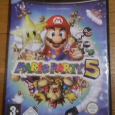 JOC GAMECUBE MARIO PARTY 5 ORIGINAL / STOC REAL in Bucuresti / by DARK WADDER Altele, Arcade, 3+, Multiplayer
