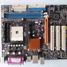 Placa de baza ECS K8M800-M2 DDR1 AGP Video onboard socket 754, Pentru AMD, MicroATX