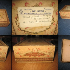 CUTII OBIECTE UZ PERSONAL vechi. Cutie sapun-Savon des Bayaderes- L.Eeckelaers