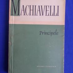 NICCOLO MACHIAVELLI - PRINCIPELE - 1960 - Filosofie