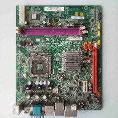 Placa de baza ECS MCP73T-AD DDR2 PCI Express Video onboard socket 775, Pentru INTEL, LGA775, MicroATX