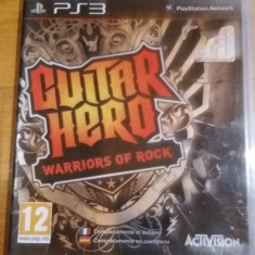 JOC PS3 GUITAR HERO WARRIORS OF ROCK ORIGINAL / STOC in Bucuresti / by WADDER - Jocuri PS3 Activision, Simulatoare, 12+, Multiplayer