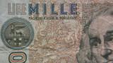 Bancnota 1000 Lire - ITALIA, anul 1982
