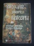 VINTILA CORBUL * EUGEN BURADA - URAGAN ASUPRA EUROPEI  {roman complet}, Alta editura, 1979