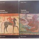 LUMEA ETRUSCILOR- GEORGE DENNIS BUC. 1982 VOL.I-II - Istorie