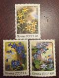 Rusia urss  1983 flori  timbre nestampilate   MNH, Natura, Nestampilat