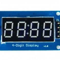 Afisaj Digital pe 4 Biti LED Display Module With Clock TM1637 Arduino