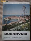 dubrovnik ghid ilustrat foto harta jugoslavia dubrovnic yugoslavia hobby turism