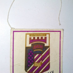 Fanion Politehnica Timisoara sectia fotbal  ( deteriorat)