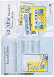 GERMANIA - 1999 - MAPA DE PREZENTARE TIMBRE DE AUTOMAT
