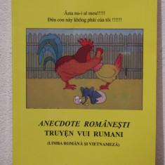 ANECDOTE ROMANESTI (LIMBA ROMANA SI VIETNAMEZA) - Ghid de conversatie