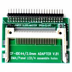 Adaptor IDE 2,5 inch 44 Pin tata la  CF, Compact Flash