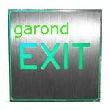 "Afisaj cu LED-uri, ""EXIT"", lumina verde, alim.: 220V/54742"