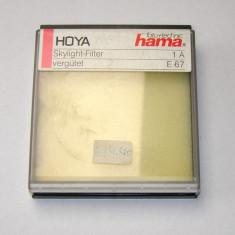 Cutie protectie filtru 67mm marca Hama