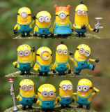 Set 12 figurine MINIONS