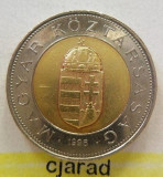 Moneda bimetal 100 Forinti - UNGARIA 1996 *cod 2312, Europa