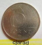 Moneda 10 Forinti - UNGARIA 1993 *cod 2321