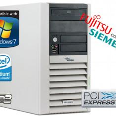 CALCULATOR Fujitsu Intel DualCore 2.5 GHZ 2GB DDR2 RAM HDD 80 GB DVD - Sisteme desktop fara monitor Fujitsu, Intel Pentium Dual Core, 2001-2500 Mhz, 40-99 GB, LGA775