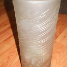 VAZA DIN STICLA VINTAGE - ANII 80 - Vaza sticla