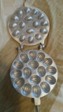 Forma de prajituri nuci cu 16 pentru aragaz dur aluminiu