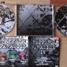 RAPPERS PARADISE vol IV dublu disc 2 cd muzica rap hip hop editie vest - Muzica Hip Hop