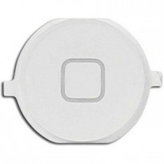 Buton meniu home plastic iPhone 4S alb