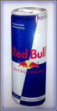 Reclama pe tabla de aluminiu - RED BULL Energy - Drink  (50cm x18cm)
