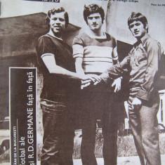 Lot 4 numere - Revista SPORT 1973, nr. 2,3,5,10