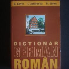 DICTIONAR GERMAN - ROMAN {2015}