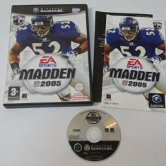 Joc consola Nintendo Gamecube - Madden 2005 Altele, Sporturi, Toate varstele, Single player