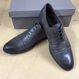 pantofi PIELE NATURALA GIORGIO F marime 45 GRI