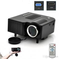 BLACK FRIDAY! VIDEOPROIECTOR CU LED, TELECOMANDA, HDMI, USB STICK/CARD.OFERTA UNICA