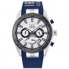 Ceas original Cerruti CRA095E255G nou factura/garantie - Ceas barbatesc Cerruti, Sport, Quartz, Inox, Cauciuc, Cronograf