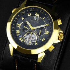 Calvaneo 1583 Astonia Black Gold Edition - Ceas barbatesc Calvaneo, Mecanic-Automatic