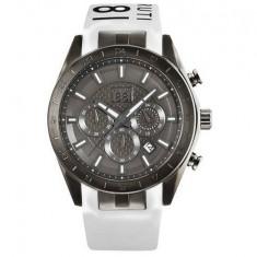 Ceas original Cerruti CRA095F224G nou factura/garantie - Ceas barbatesc Cerruti, Elegant, Quartz, Inox, Cauciuc, Cronograf