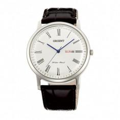 Ceas original Orient FUG1R009W6 nou cu factura/garantie - Ceas barbatesc Orient, Elegant, Quartz, Inox, Piele, Rezistent la apa