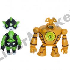 Ben 10 - set doua figurine Omniverse 7 cu proiectie 0856-10 - Figurina Desene animate