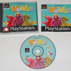 Joc consola Sony Playstation 1 PS1 PS One - The Hoobs, Actiune, Toate varstele, Single player